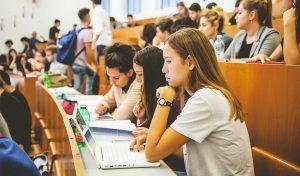 Foto di alcuni studenti